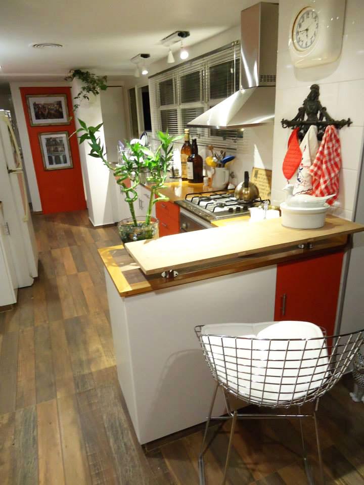 Refacción de una cocina en un departamento de Martínez